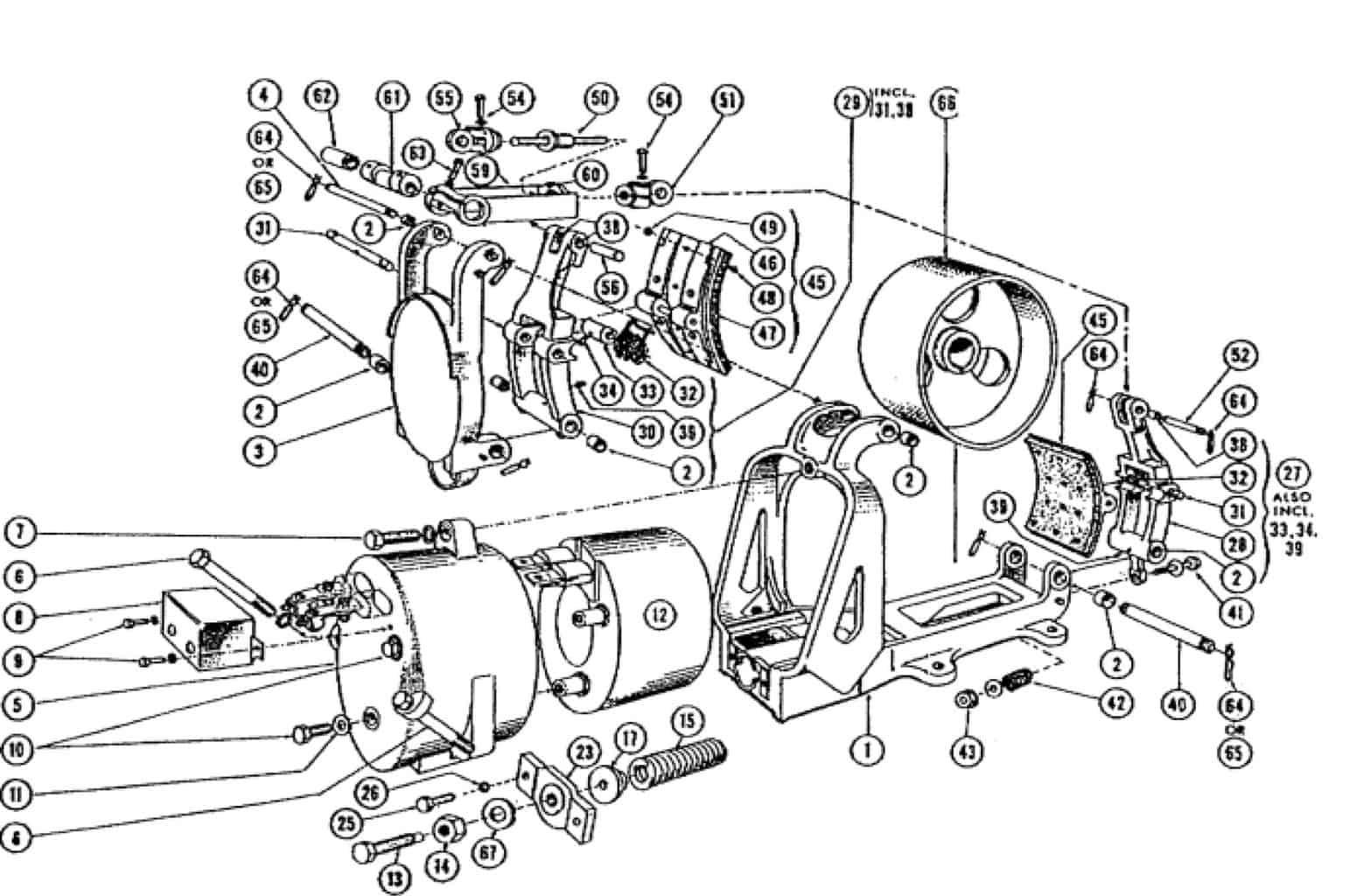 Clark 8 Dc Magnetic Brake