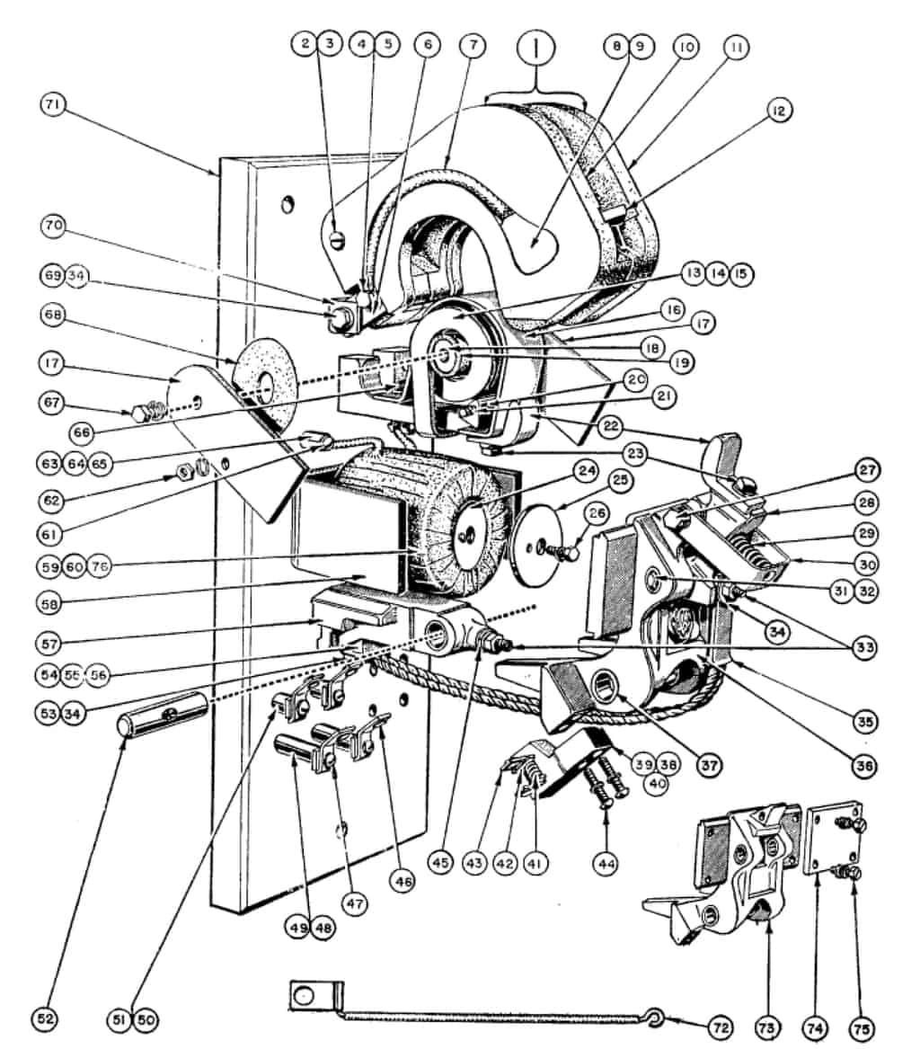 No 1 Single Pole Type L Line Arc Contactor Folio 3
