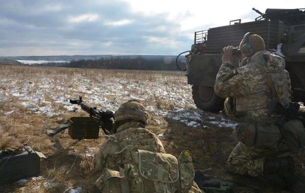 В зоне АТО сепаратисты четыре раза обстреляли позиции ВСУ