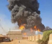 В Судане при пожаре на фабрике погибли 24 человека