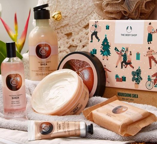 Kora Sustainability Blog - 20 Sustainable gift ideas that are no compromise - Body Shop Gift Box