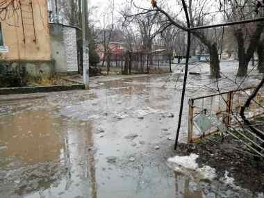 внутриквартальный проезд по ул. Океановской