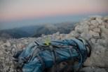 Led na nahrbtniku pove veliko o nočnih temperaturah.