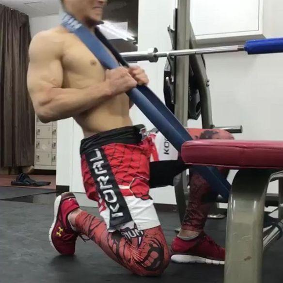 鍵山士門選手KORAL JAPAN: www.koral.jp#鍵山士門 #koraljapan #コラルジャパン #ケージモデル #cage #training #筋トレ #フィジカル