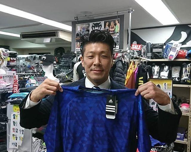 三浦広光選手ご来店!