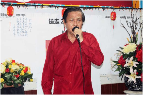 刘帝辉独唱。