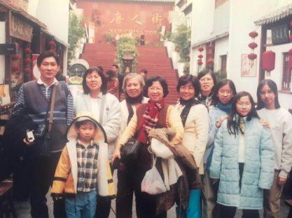 2002年11月底,北京天津游