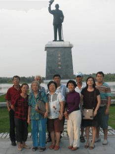 2010年9月,母亲金门探亲之旅