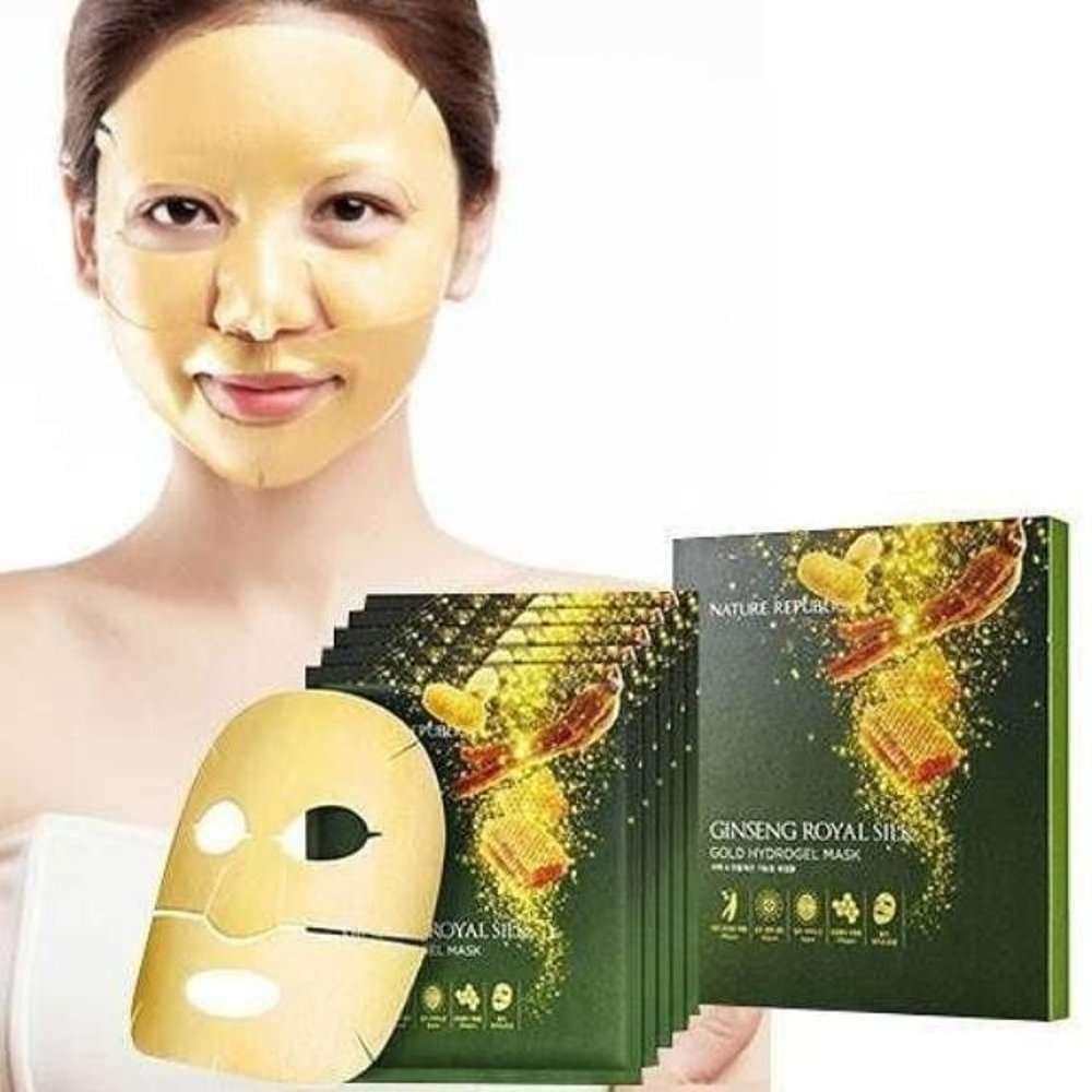 Royal Gold Hydrogel Mask