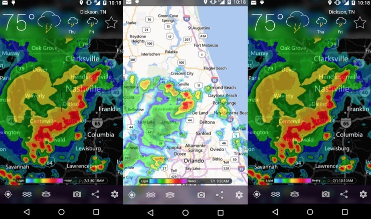 Weather Maps & storm Radar