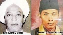 Guru Badruddin (kiri), Ahmad Jamaluddin (kiri)