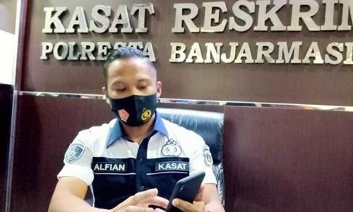 Kasat Reskrim Kompol Alfian Tri Permadi