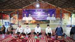 Bupati Banjar H Saidi Mansyur (tengah) menghadiri pertemuan Forsekdesi Banjar. (Sumber Foto: Kominfo Banjar)