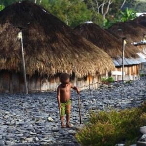 Rumah Adat Papua Honai yang Curi Perhatian Wisatawan