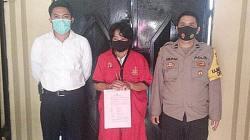Oknum ASN Pemprov Kalteng yang telah diamankan Polda Kalteng. (foto: borneo24/koranbanjar.net)