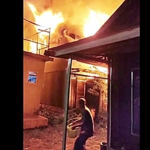 Rumah Wartawan Turut Terbakar di Gang Famili Martapura, Kretek Api Dikira Suara Kucing