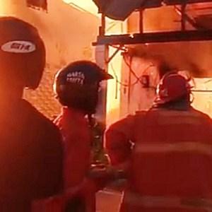 UPDATE, Kebakaran Hebat di Ponpes Al-Falah Banjarbaru, 8 Asrama, 6 Ruang Kelas Terbakar