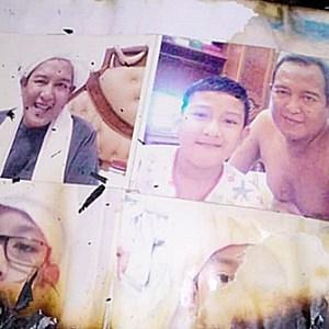 MENGEJUTKAN, Api di Jalan Famili Tak Membakar Foto Guru Sekumpul