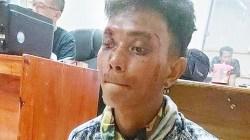 Pelaku perampokan saat diamankan pihak kepolisian. (foto: Borneo24/koranbanjar.net)
