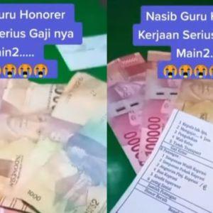 Viral Curhatan Guru Honorer: Kerja Serius, Gaji Main-main