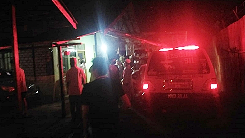 Evakuasi temuan mayat di Kota Banjarmasin. (foto: yanda)