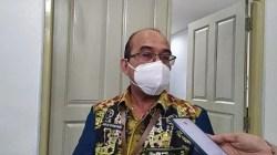 Kepala Bakeuda Kalimantan Selatan, Agus Dyan Noor saat wawancara dengan awak media.(foto: ist)