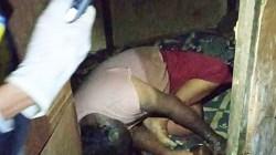 Sesosok mayat tanpa identitas ditemukan di Kota Banjarmasin, Kalsel. (foto: yanda)
