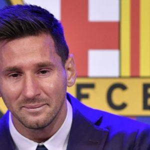 Messi Berurai Air Mata Sampaikan Salam Perpisahan