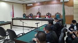 Sidang kasus korupsi PD Baramarta. (foto: leon)