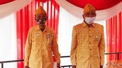 Legiun Veteran dari Kabupaten Banjar. (foto: dewi)