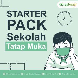 Starter Pack bagi Siswa Saat Sekolah Tatap Muka
