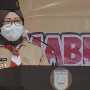 Ketua Kwarda Kalsel Melantik Kepengurusan Gerakan Pramuka Kabupaten Banjar