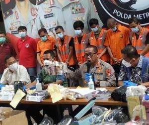 Polisi Bongkar Sindikat Narkoba, Sita 5.052 Butir Ekstasi yang Dikamuflase ke Kaleng Makanan Anjing