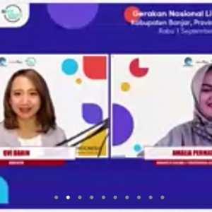 Webinar Literasi Digital Kabupaten Banjar; Kebebasan Berekspresi di Ruang Digital dengan Literasi