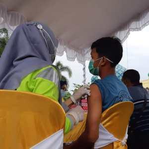 Dorong Percepatan Kekebalan Komunal, Pemkab Banjar Gelar Vaksinasi di Masjid Al Karomah