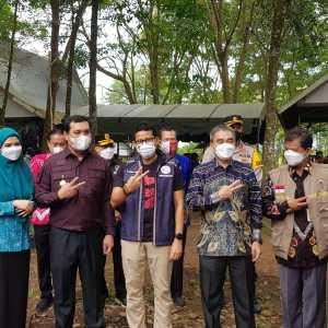Sandiaga Uno Kunjungi Kampung Purun Banjarbaru