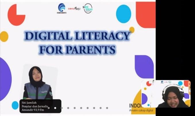 Webinar Literasi Digital HSS.