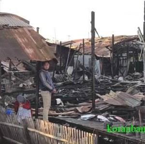 Kebakaran Hanguskan 10 Rumdin di Kecamatan Gambut, DPRD Banjar Minta Camat Segera Melapor ke Pemda