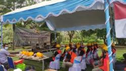 Pembekalan dan uji sertifikasi tenaga kerja konstruksi yang dilakukan di RTH Marabahan (16/09/2021). (Foto:Faqih)
