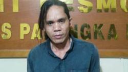 Pelaku curanmor, Sarbani (41), warga Kelurahan Anjir Palambang Kecamatan Pulau Petak Kabupaten Kapuas, Kalimantan Tengah.(foto: borneo24.com/koranbanjar.net)