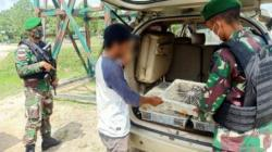 Penyelundupan satwa liar di perbatasan Indonesia-Malaysia di Sambas, Kalimantan Barat. (fotoL Antara)