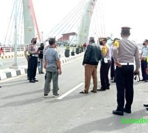 Jembatan 'Ading Basit' Sudah Dibuka, Dishub Batola; Ini Hanya Ujicoba, Bukan Peresmian