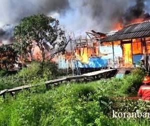 39 Jiwa Kehilangan Tempat Tinggal Akibat Kebakaran Terkini di Gambut, Kalsel