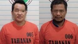 Dua tersangka berhasil diamankan pihak Polres HST. (foto: humas)