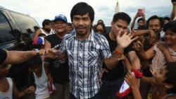 Petinju sekaligus senator Filipina, Manny Pacquiao