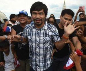 Manny 'Pacman' Pacquiao Siap Bertarung di Pilpres Filipina