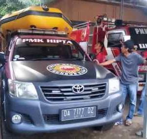 Bantu Evakuasi Korban Banjir, Rescue Gabungan Kabupaten HSS Berangkat ke Kalteng