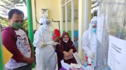 Peserta CPNS melakukan Swab Antigen Gratis diUPT puskesmas Marabahan (Foto:Koranbanjar.net)
