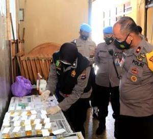 Polres Banjar Tes Urine Anggota, Kapolres; Jika Positif, Akan Ada Pemeriksaan Lanjutan