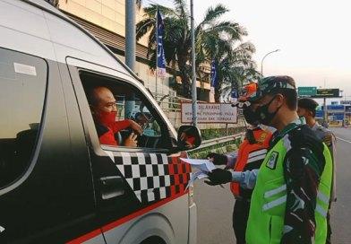 Sebanyak 51 Kendaraan Diputar Balik di GT Bekasi Barat 1